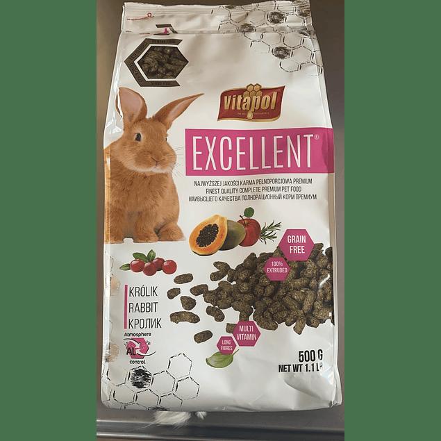 alimento completo para conejos 500gr vitapol