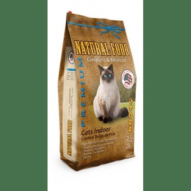 natural food adulto premium indoor gato 7,5k