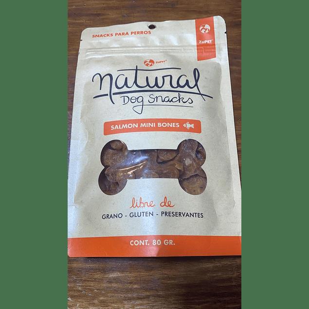 snack natural dog salmon