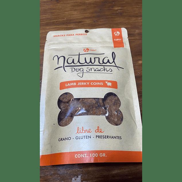 snack natural dog lamb jerky