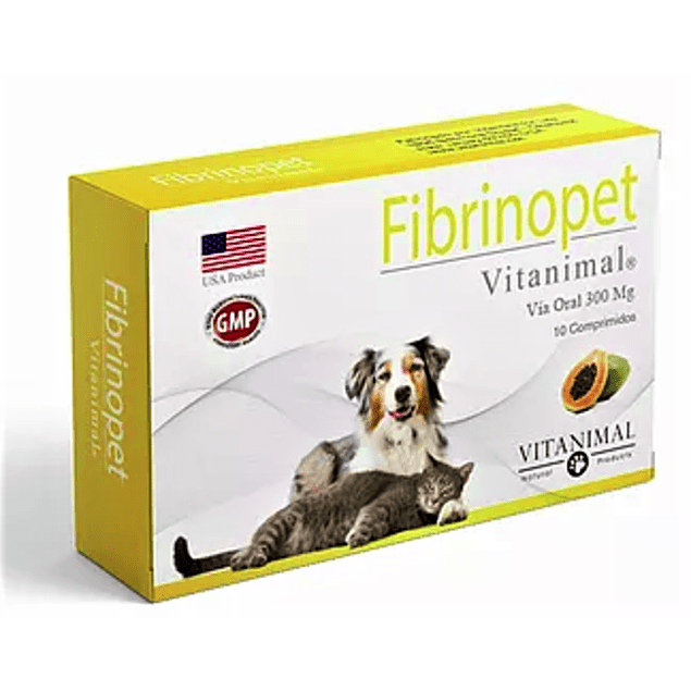 Fibrinopet 300mg X 30 Comprimidos