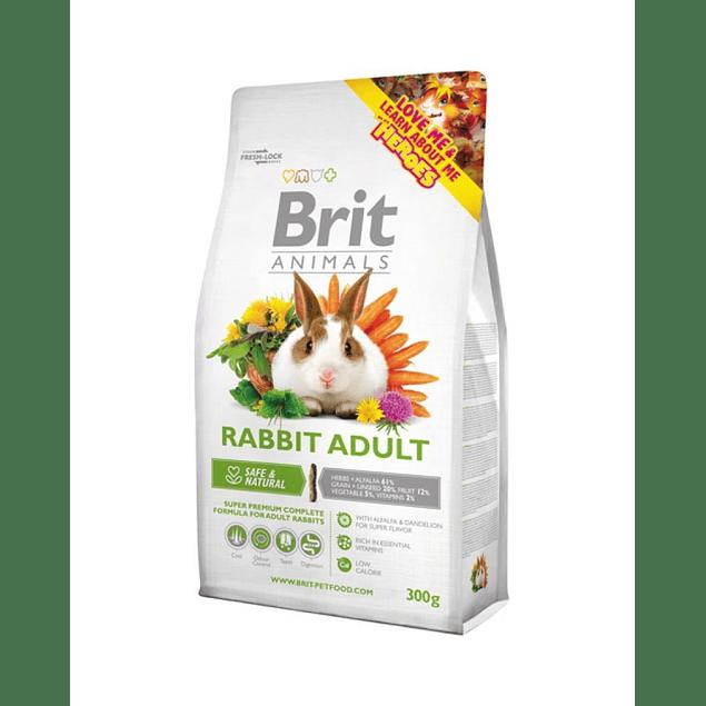 brit animals rabbit adult 300gr