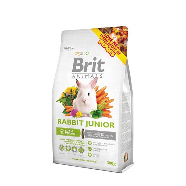 brit animals rabbit junior 300gr