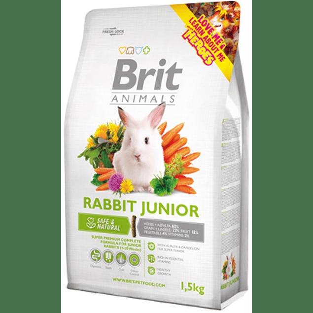 brit animals rabbit junior 1.5kg