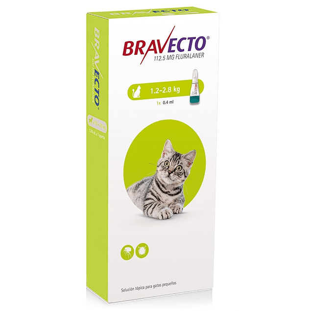 Bravecto para Gato (1.2 - 2.8kg)