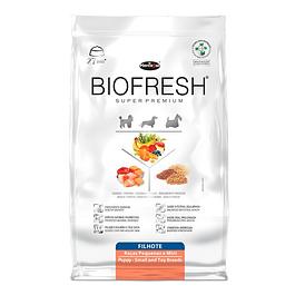 Biofresh Super premium Perros Cachorros Raza Pequeña 10kg