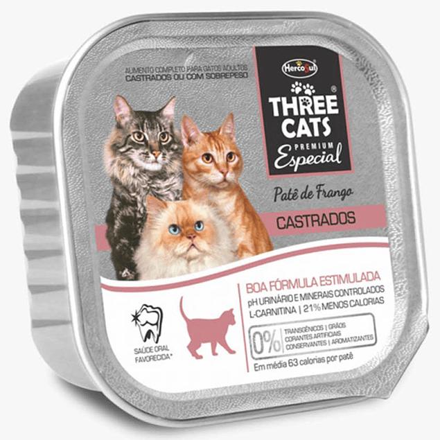 Three Cats Paté Buena Forma (castrados) 90gr