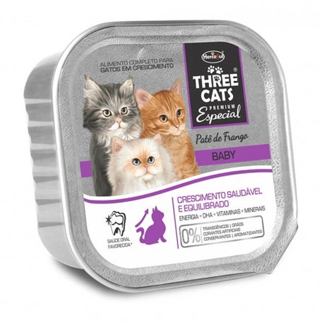 Three Cats Paté Baby 90gr