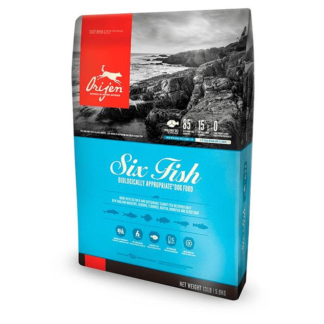 Orijen Six Fish 5,9kg Perro