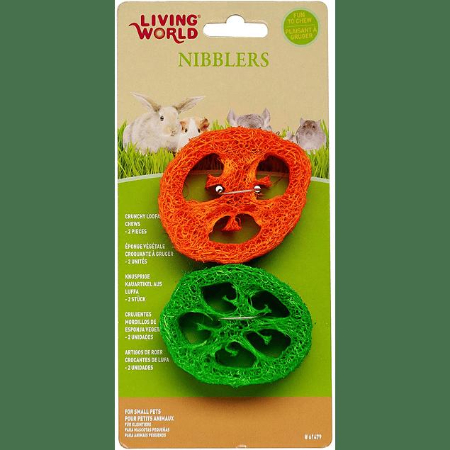 Living world Nibblers Esponja vegetal