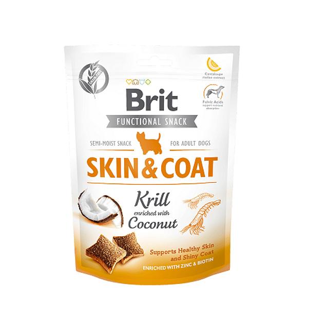 Brit functional snack skin & coat 150gr