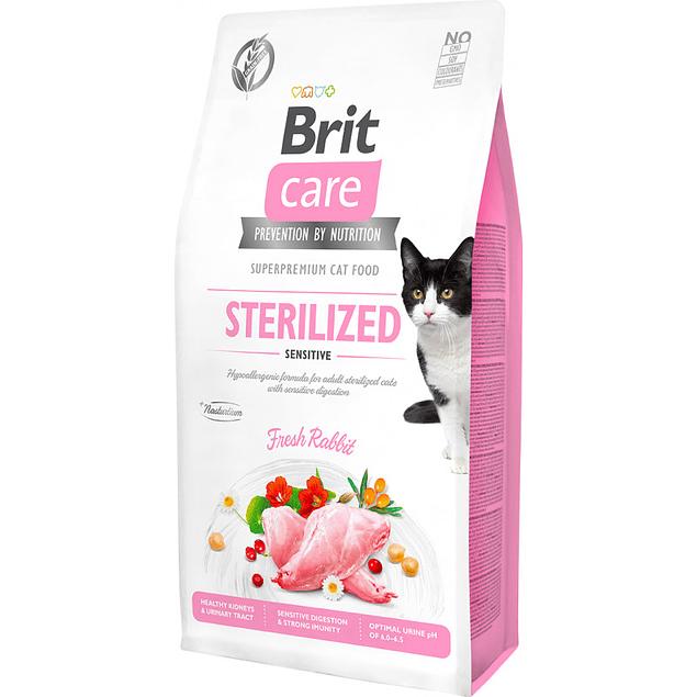 Brit Care Cat Sterilized Sensitive 2kg