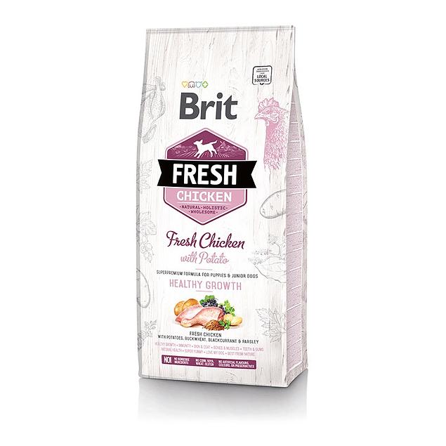 Brit Fresh Chicken With Potato Puppy 12kg