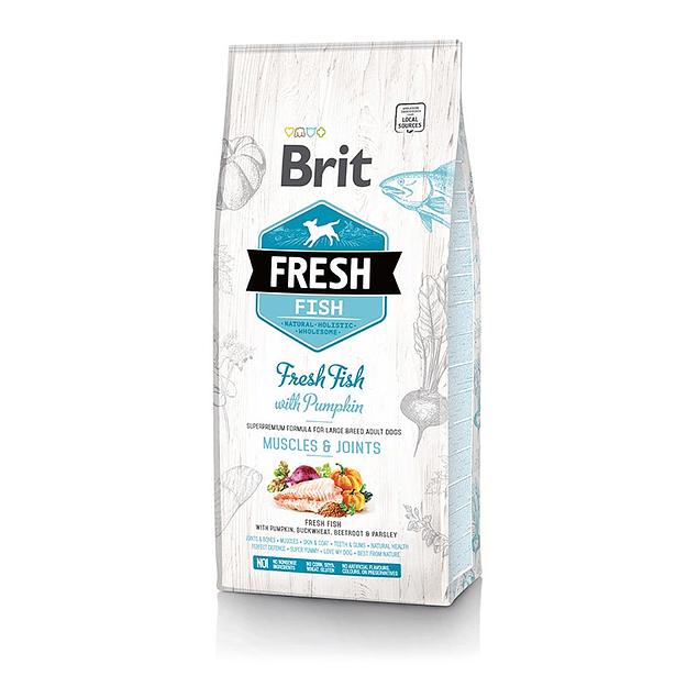 Brit Fresh Fish With Pumpkin Adult Large 2,5kg