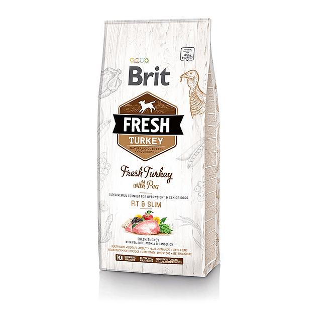 Brit Fresh Turkey With Pea Fit & Slim Light 2,5kg