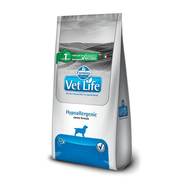 Vet Life Hypoallergenic Perro 2kg