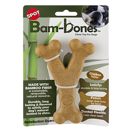Bam-Bone Hueso (Tipo Y) Sabor Pollo Grande (54314)