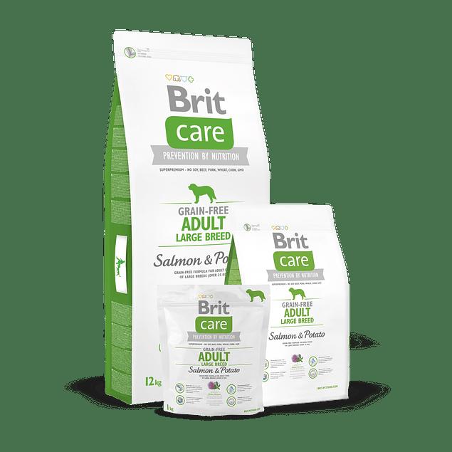 Brit Care ADULT LARGE BREED Salmon & Potato 12kg