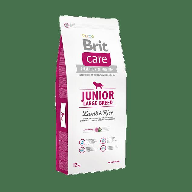 Brit Care JUNIOR LARGE BREED Lamb & Rice 12kg