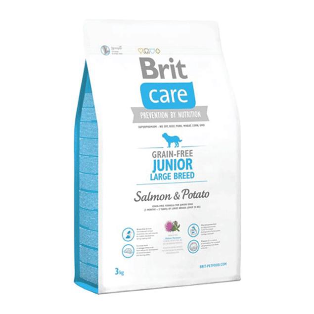 Brit Care JUNIOR LARGE BREED Salmon & Potato 3kg