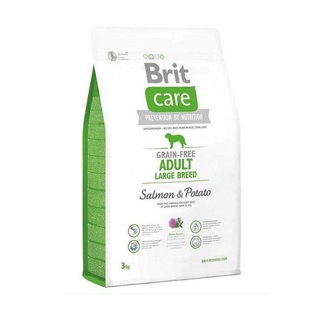 Brit Care ADULT LARGE BREED Salmon & Potato 3kg