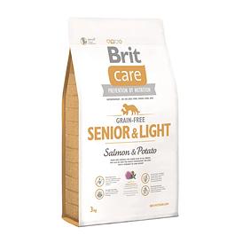 Brit Care SENIOR & LIGHT Salmon & Potato 3kg