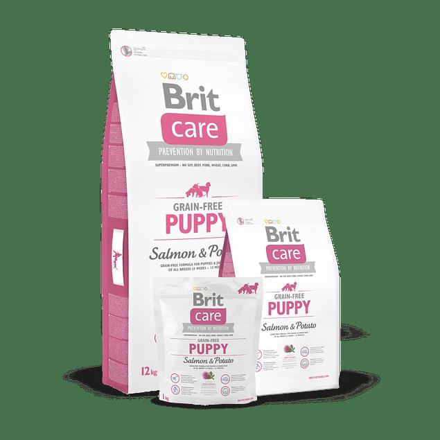 Brit Care PUPPY Salmon & Popato 1kg