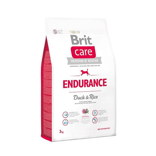 Brit Care ENDURENCE Duck & Rice 3kg