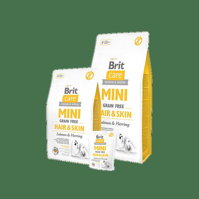 Brit Care MINI HAIR & SKIN Salmon & Herring 2kg