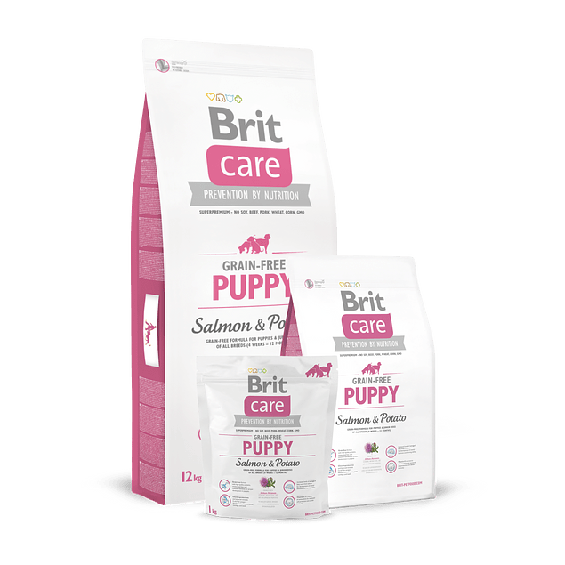 Brit Care PUPPY Salmon & Potato 3kg