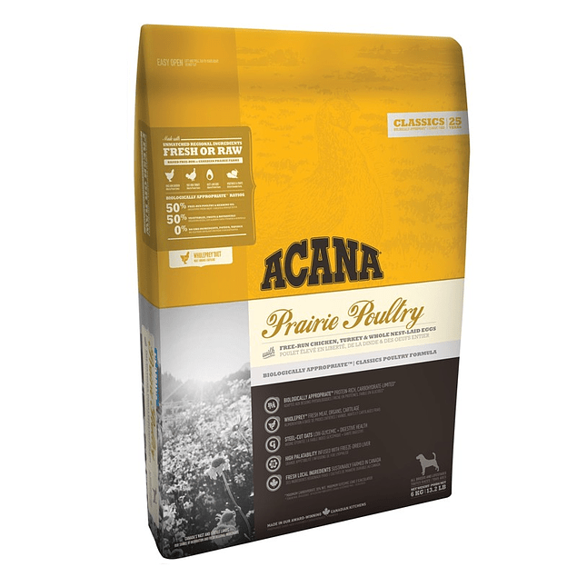 Acana Classic Prairie Poultry 11.35kg