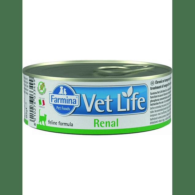 Vet Life Renal Gato 85gr