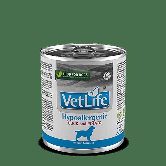 Vet Life Hypoallergenic Perro 300gr (Pato)