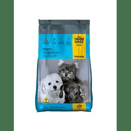 Three Dogs Cachorros Razas Pequeñas y Mini 10,1kg