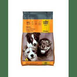 Three Dogs Cachorros Razas Medianas y Grandes 10,1kg