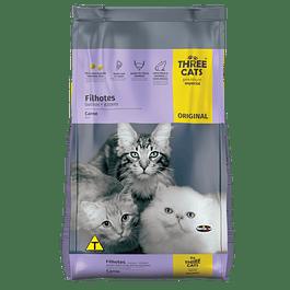 Three Cats Gatitos Carne 1kg