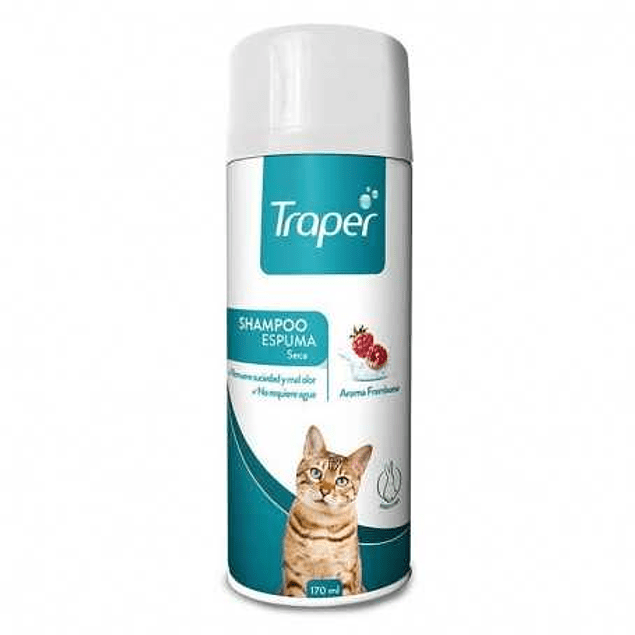 Traper Shampoo En Seco Para Gato