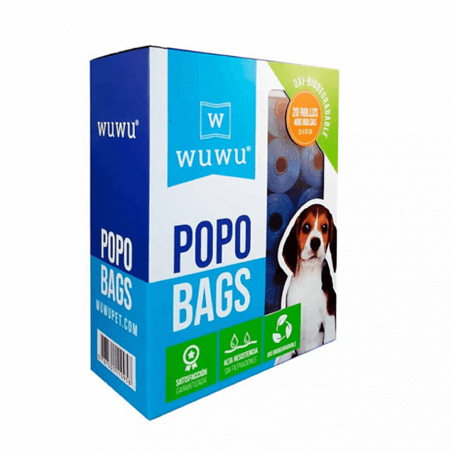 Popo Bags 400 Bolsas