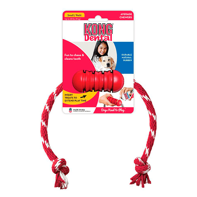 Kong Dental S With Rope