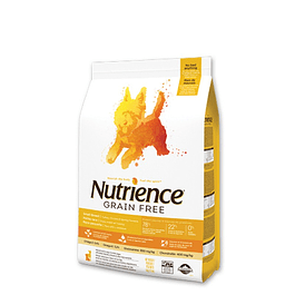 Nutrience Grain Free Carne Raza Pequeña 2,5kg
