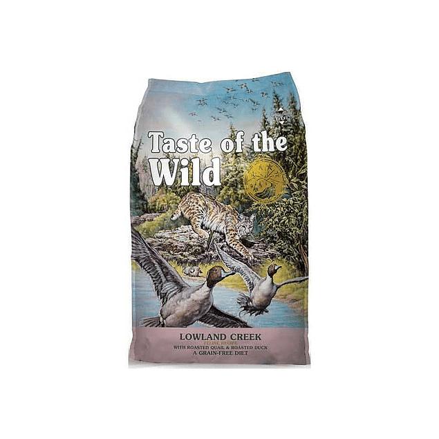 Taste of the wild Lowland Creek Feline (Pato) 2kg