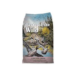 Taste of the wild Lowland Creek Feline (Pato) 6.6kg