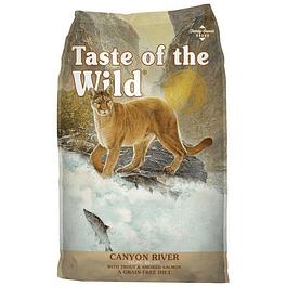 Taste of The Wild Cayon River (Trucha y Salmon) 2kg