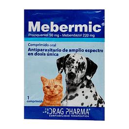 Mebermic 1 pastilla para 10kg