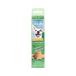 Fresh Breath Gel Dental Para Perro (Mantequilla de Maní) 59ml