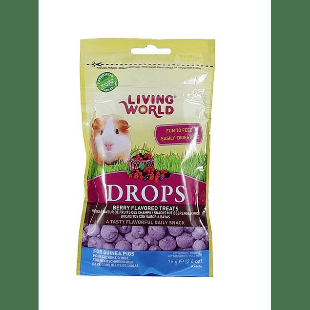 Drops Berry Living World (Guinea Pig) 75gr