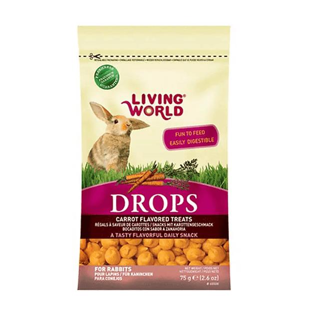 Drops Zanahoria Living World (conejo) 75g