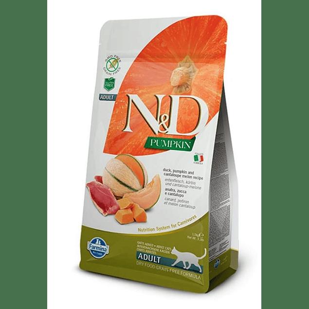 N&D Pumpkin Gato Pato y Melon 7,5kg
