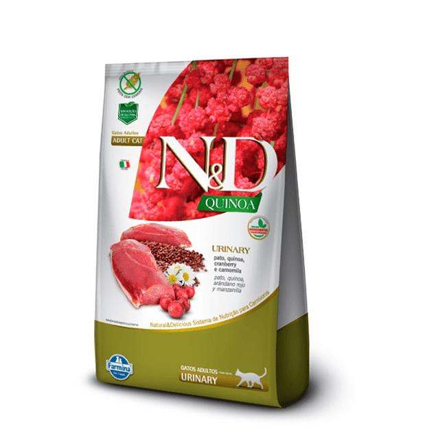 N&D Quinoa Gato Urinary Pato 1,5kg