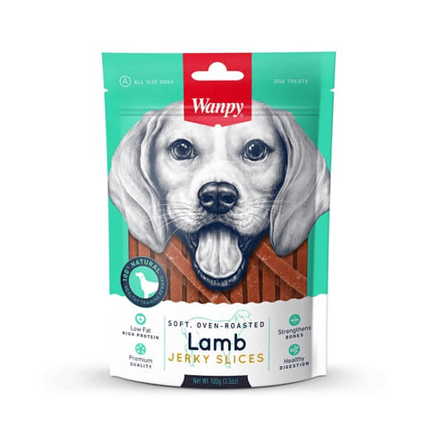 Wanpy Lamb Jerky Skices